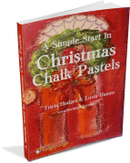 A Christmas Start in Chalk Pastels 3D