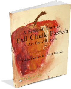A Seasonal Start in Chalk Pastels - Fall 3D