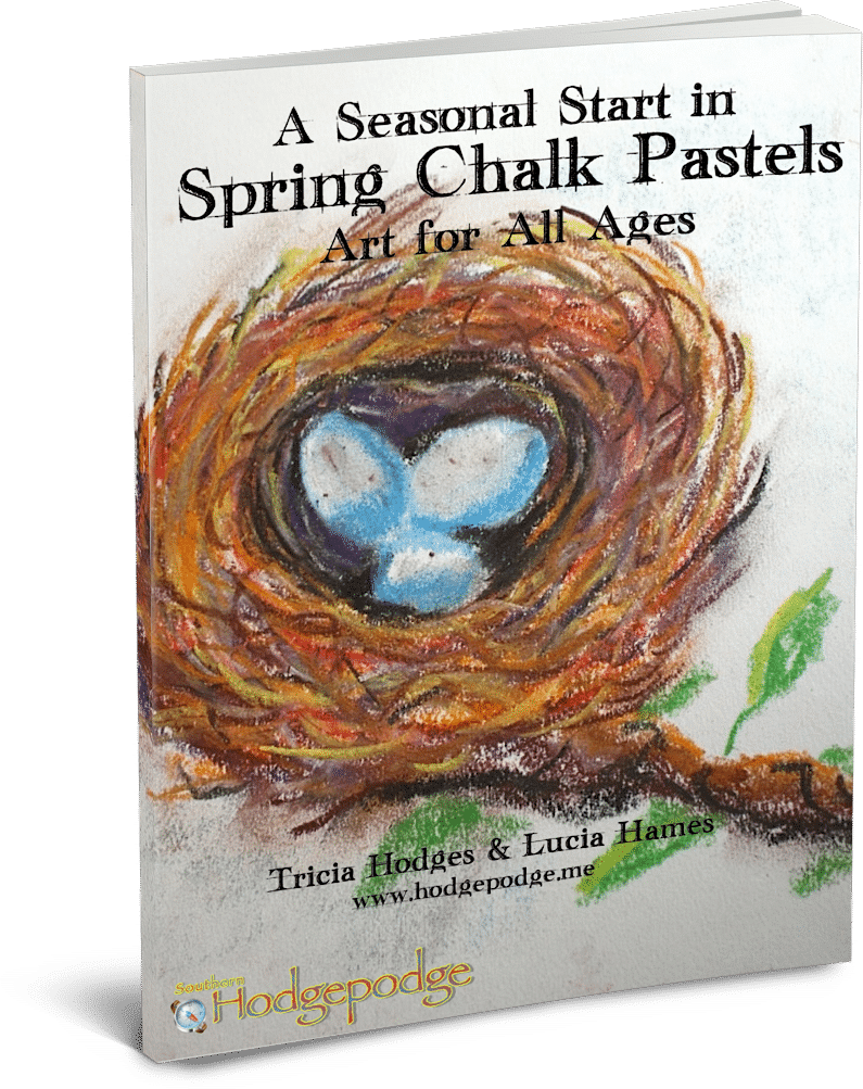 A Seasonal Start in Spring Chalk Pastels