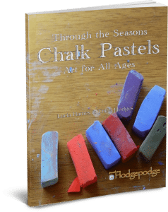Chalk Pastels Through the Seasons thinpaperback