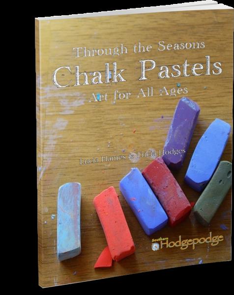 Chalk Pastels Through the Seasons thinpaperback