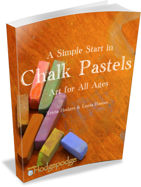 *A Simple Start in Chalk Pastels eBook