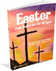 Easter Chalk Art for All Ages