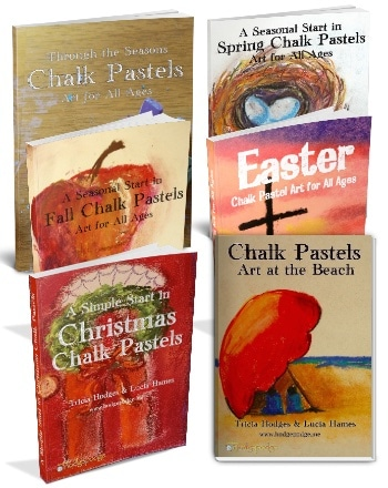 Chalk Pastel Art Through the Seasons Bundle