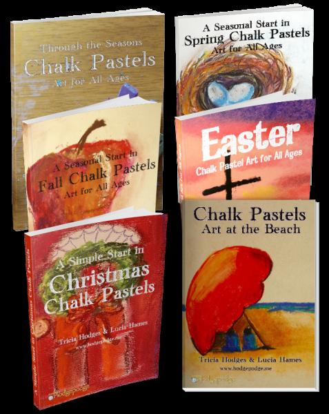 Chalk Pastel Art Through the Seasons Bundle - You ARE an Artist