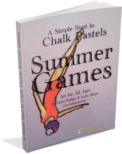 A Simple Start in Chalk Pastels Summer Games