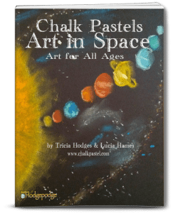 Chalk Pastels Art in Space