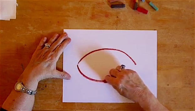 Video art courses at chalkpastel.com