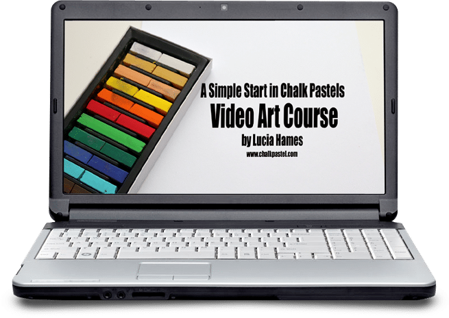 A Simple Start in Chalk Pastels Video Course (optional)