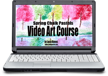 Spring Chalk Pastel Video Art Course