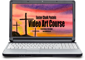 Easter Chalk Pastels Video Art Course