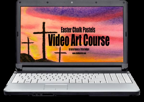 Easter Chalk Pastels Video Art Course