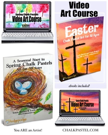 Easter and Spring Video Art Course for All Ages