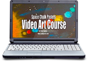 Space Chalk Pastel Video Art Course 350x247