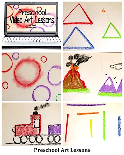 Preschool Video Art Lessons