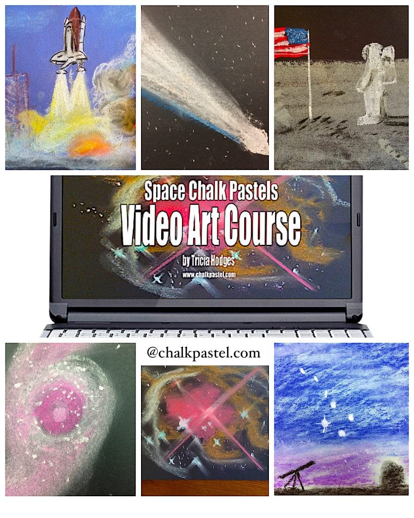 Space exploration video art course you are an artist for Space art tutorial