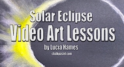 Solar Eclipse Video Art Lessons