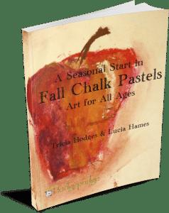 A Seasonal Start in Chalk Pastels - Fall 3D