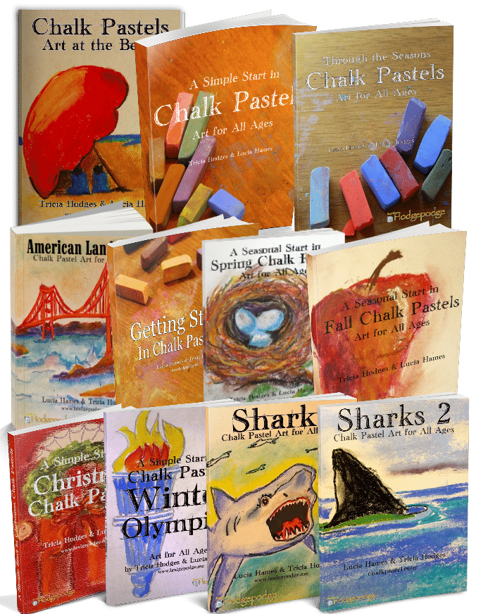 Get Ready for Summer with this Seashore Chalk Pastel Video Art Course