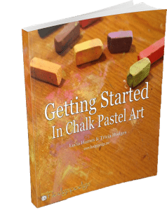You will find that You ARE an artist with Nana's video art lessons for all ages. You are invited to Get Started in Chalk Pastel Art.