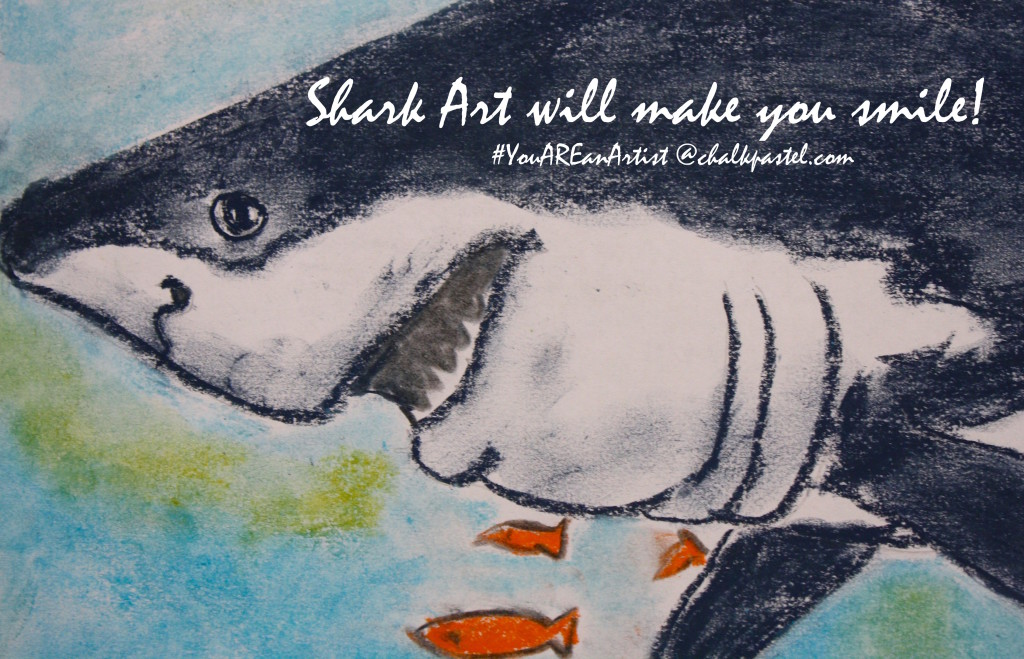 Shark Art will make you smile!