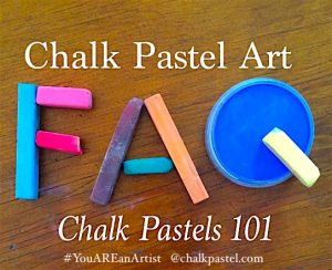 Chalk Pastel Art Applying Fixative You Are An Artist