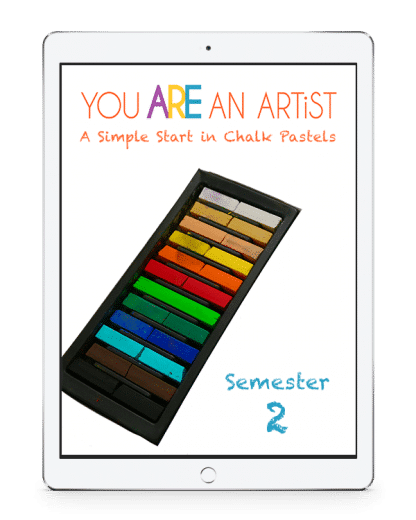 You asked for it! A Simple Start in Chalk Pastels Video Art Course is now available – with semester options! Because you ARE an artist.