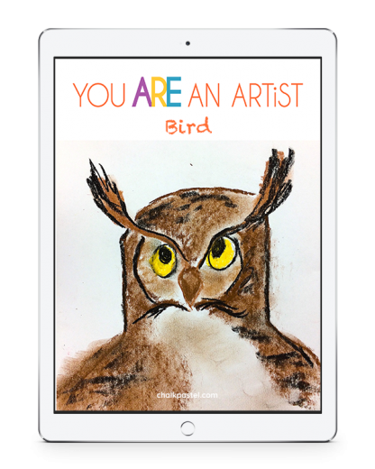 Invite a Master Artist to teach the joy of art to all grades and ages using our bird video art course. Enjoy chalk pastel art from the comfort of your home.