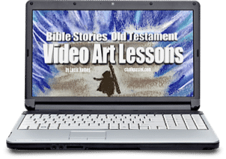 Expand your Bible studies and make them come alive with chalk pastel art and Bible Stories Video Art Lessons for all ages. Great with ancient history.