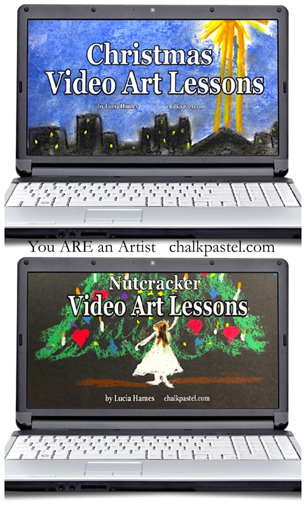 Christmas Extravaganza Video Art Lessons