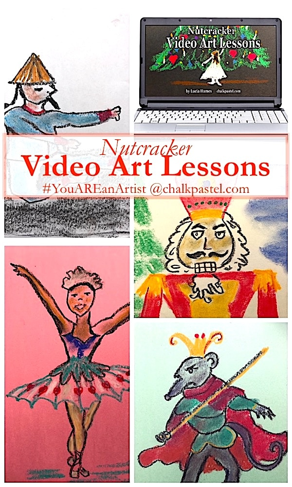 Book Cover Drawing Lessons : Nutcracker video art lessons you are an artist