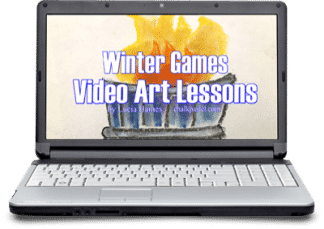Celebrate the excitement with Winter Games Video Art Lessons! Invite a Master Artist to teach the joy of art using this one video course.
