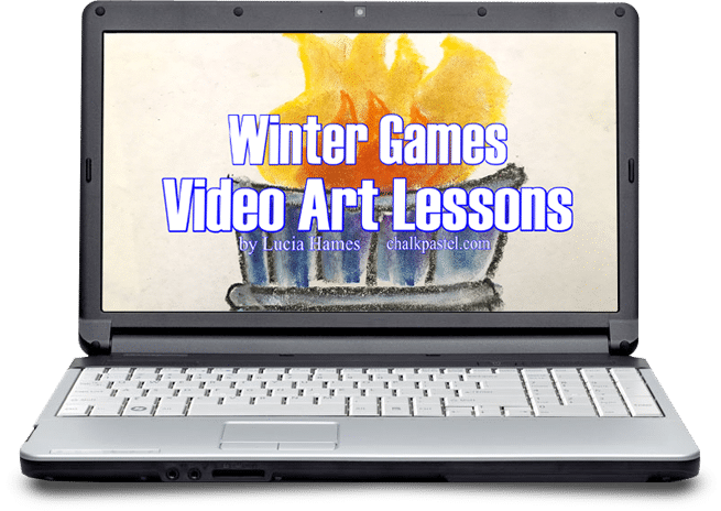 Celebrate the Winter Games with art!