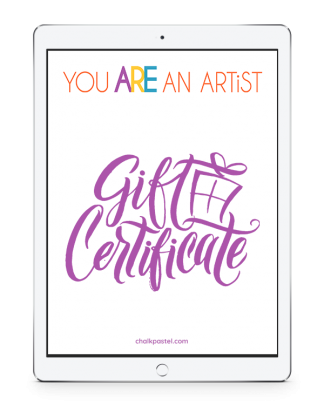 Give the gift of art. Purchase store credit as a gift certificate. You can set the amount.
