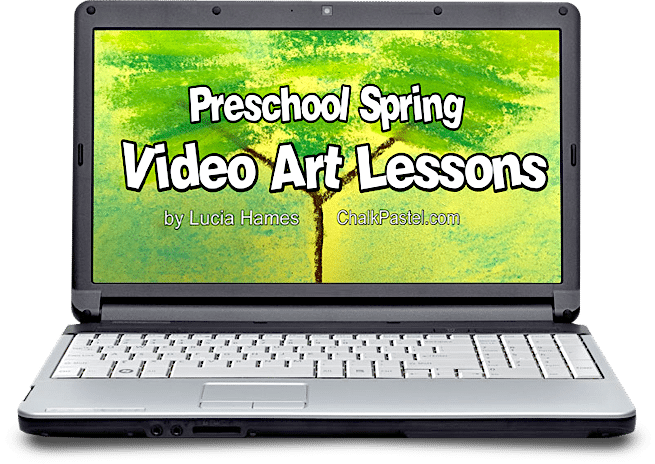 Preschool Spring Video Art Lessons