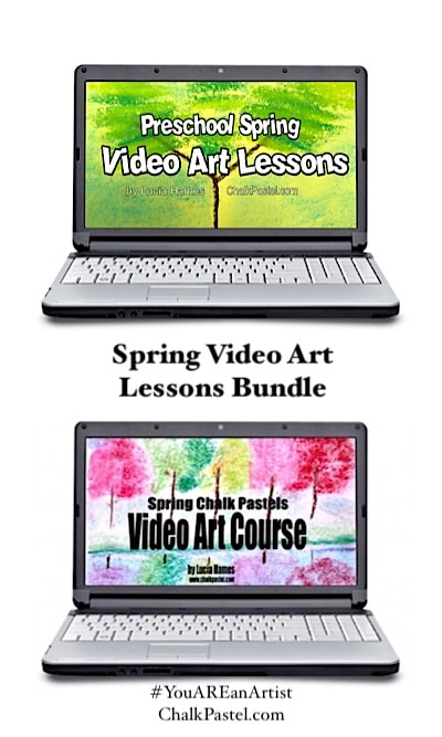 Spring Video Art Lessons Bundle