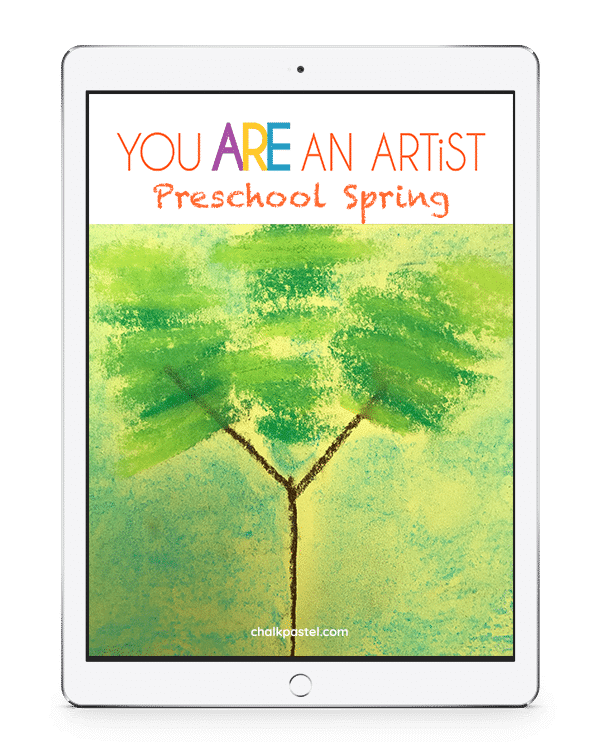 Ready for spring? Invite a Master Artist to teach the joy of art to your preschoolers with these Preschool Spring Video Art Lessons.