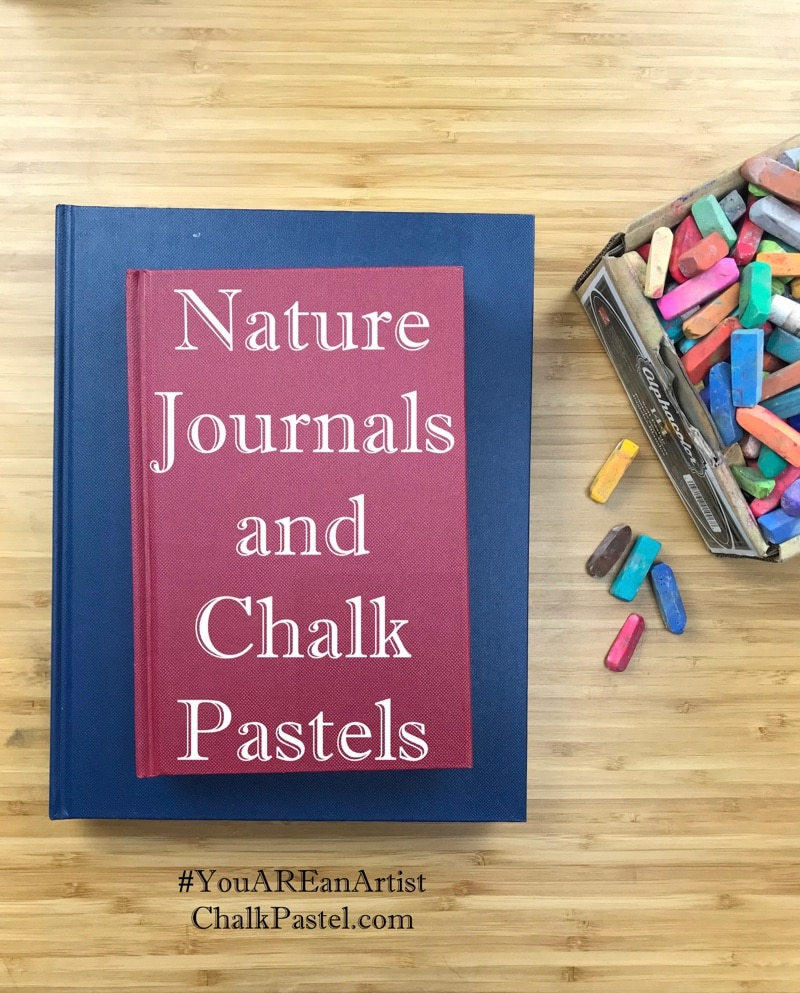 What joy to go on a nature walk and journal all that you see! Chalk pastel nature journaling is a way to capture those adventures. Growing a love of nature and a love of art. Includes a how to video!