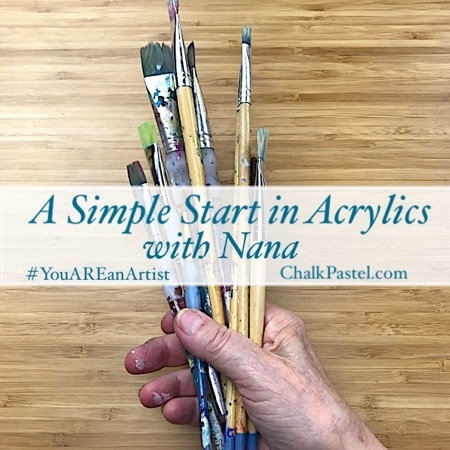Acrylics Video Art Lessons