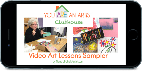 Artist Clubhouse Video Art Lessons Sampler