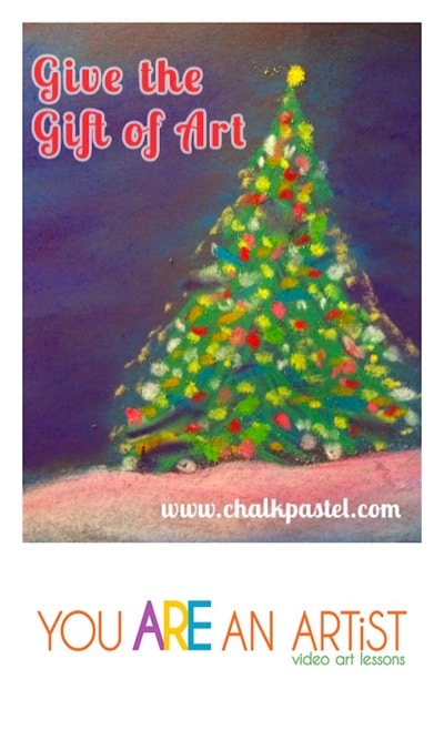 Chalk Pastel Art Gift Guide