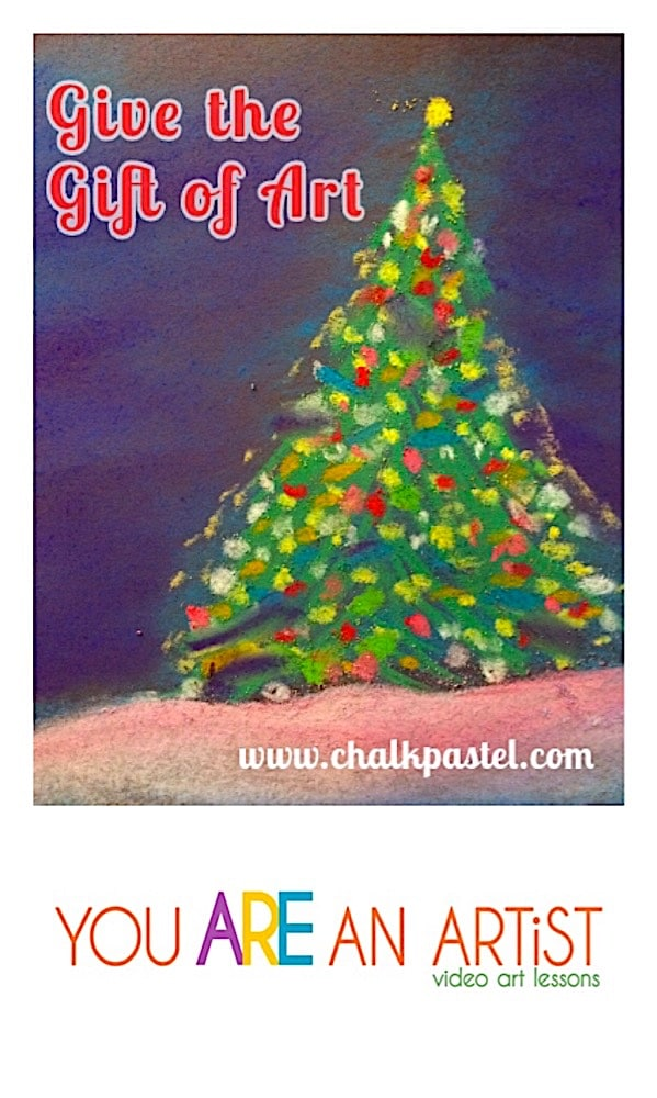 Chalk Pastel Art Gift Guide