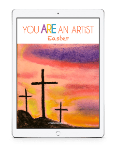 Celebrate Easter with art! Teach the joy of art to all grades and ages using this Easter Chalk Pastel Video Art Course.