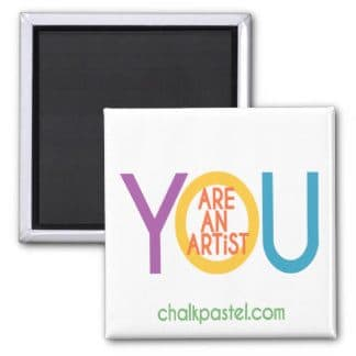 Let everyone know that You ARE an Artist with the exclusive You ARE an Artist magnet. It's perfect for hanging your latest painting on the family fridge!