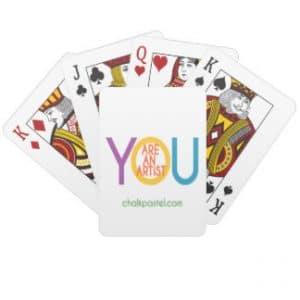 You ARE an Artist Playing Cards - Have a fun afternoon of art then play a round of Go Fish!