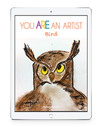Bird Chalk Pastel Video Art Course