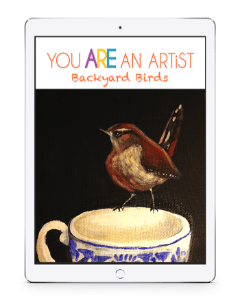 Backyard Birds Acrylic Art Lessons