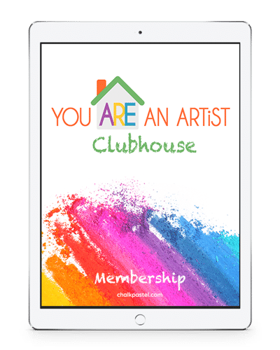 Just what does You ARE an Artist Clubhouse membership give you access to? Here is a You ARE an Artist Clubhouse Course Listing.