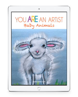 All it takes is a starter set of chalk pastels, construction paper (or your nature journal!) and Nana's video art lessons to capture sweet baby animals! No expensive, intimidating list of art supplies. Baby Animals is a wonderful stand alone art curriculum or a perfect complement to your learning!