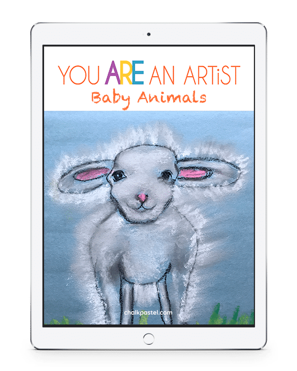 Baby Animals Chalk Pastel Video Art Lessons